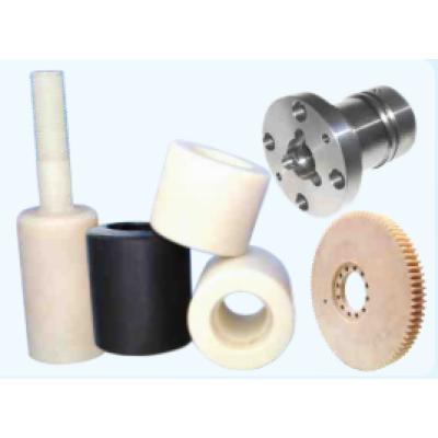 Mecanizado de piezas en plástico y acero