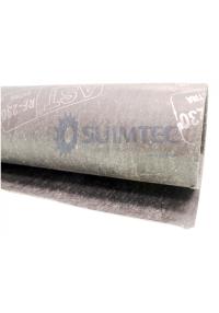 Lamina de asbesto grafitado con y sin inserción metálica